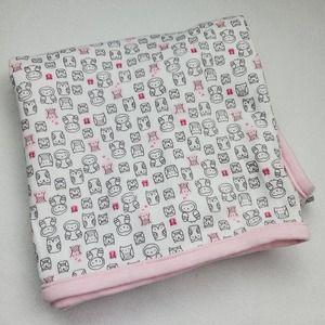 Carter's Owl Pink Baby Blanket